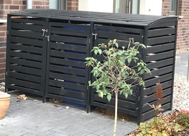 Gut gemocht Mülltonnenstandplätze EH05